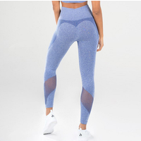 One Piece Drop Shipping Women Mid Waist Seamless Workout Leggings  Gym Athletic Tights  Running Sports Yoga Pants