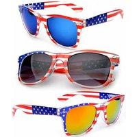 'American Flag Sunglasses 2018 Usa Fashion Polarized Sunglass