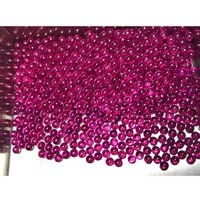 Wholesale Beads Round and cabochon 5# Ruby ball