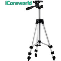 2019 iCoreworld new arrivals 1.1m universal portable camera phone  projector accessories floor tripod stand holder can OEM/ODM