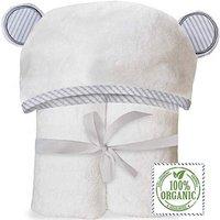 OEKO-TEX Wholesale Custom Animal Thick Organic Bamboo Unicorn Grey Baby Hooded Bath Towel For Kids Toddler Newborn Washcloth Set