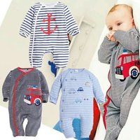 Newborn Baby Boy Sleep Suit Winter Romper For China Manufacturer