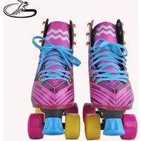 Popular four wheels patines roller skates inline soy luna