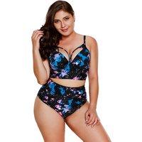 Women Sexy Summer Swimwear Two Piece plus size swimwear Bathing Suit Swim Wear Backless Beach