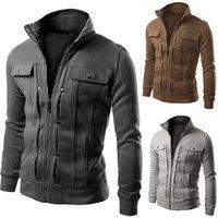 Classic Hot Sale Men Jacket Coat Stand-Collar Jacket Men Winter Wear