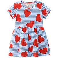 Hot sale summer short sleeve cheap price fashionable kids popular clothing for baby girls