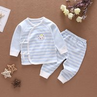 Childrens wear High Quality Striped long Sleeves Spring and Autumn Newborn Kids Clothing  Baby Clothes childrens garments