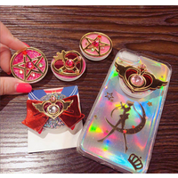 2019 new product arrivals sailor moon phone holder grip and custom mobile holder socket with logo for poPPING