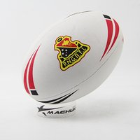 New Material Customized Promotional and Match Rugby Ball Size 5 ,4,3,2,1