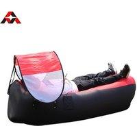 High Quality Nylon Ripstop Air Sleeping Bag Sofa Air Bed Sofa Inflatable Camping Sofa