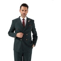 Men 3 Piece Uk Double Breasted Blazer Clothing Summer New Design Wedding Coat Suit Set For Man