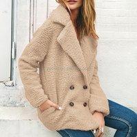 2019 Winter Warm Thick Cheap Custom Short soft Fleece Jacket For Women