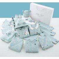 0-3 Months Newborn Baby Clothes 100% Cotton Infant Clothes Set Unisex Infant Boys Girls Clothing 18pcs/set Stock wholesale