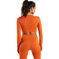 Ptsports seamless leggings crop top womens sportswear sets leggings set women yoga set