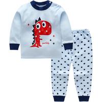 Kids Clothing Sets Four seasons  Comfortable 100%cotton baby clothes sets Cartoon print