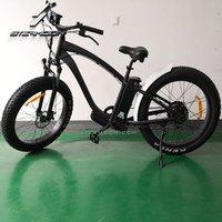 2019 Latest model beach cruiser electric bike 26x4.0 wheel electric fat tire bike cheap price electric bicycle 7speed derailleur