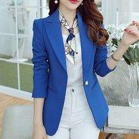 latest designs blazer women fashion women office uniform style blazer for ladies