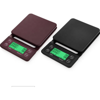 digital drip coffee scale 3kg/0.1g with timer