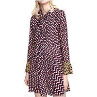 European design fashionable summer silk clothes women dress office lady wear dress