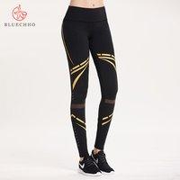 Women Leggings Fitness Pants High Quality Sportswear Leggings Print High Waist Black Compression Fitness  and Yoga Wear