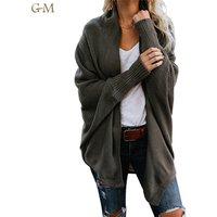 Ladies Autumn Long Knitted Women Large Outwear Coats Oversized Long Sweater Cardigan