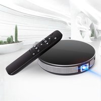 Mini Portable Pocket Projector HD 1080P Smart DLP LED Home Theater Bluetooth Speaker Android System Wi-Fi