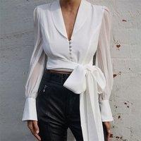 FS0355D 2019 autumn new arrivals women T-shirts long sleeve blouse