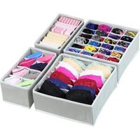 Closet Underwear Organizer Drawer Divider Folding Fabric Storage Box cloth storage box