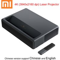 Xiaomi mijia 4K laser projector TV home theater short focus 5000 lumens with Wifi Bluetooth 3D projector 4k 3840x2160 dp