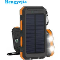 'New Products Solar Power Bank Waterproof Outdoor Solar Panel Charger Station