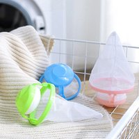 'Amazon Hot Sale Filter Bag Laundry Mesh Hair Catcher Floating Ball Pouch Washing Machine Cleaning Tools For Washing Machine