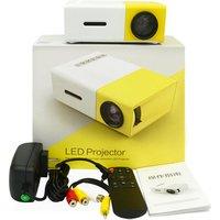 High Quality Video PlayHD LED Mini Portable Small Pocket Projector YG300