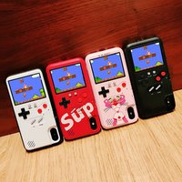 Full color display Game phone cases chargeable smartphone case game phone case for iphone xs max