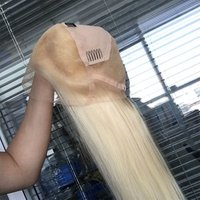 613 Blonde full lace human hair wig ,HD lace blonde full lace wig ,Transparent blonde full lace wigs