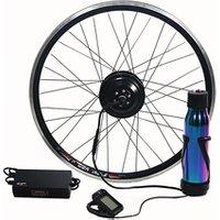 LCD + 36V 350W High Speed Electric Bicycle E Bike Hub Motor Conversion kit