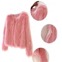 Wholesale and cheap faux fur coat for women