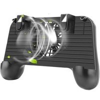 L1R1 Shooter Joystick with Gaming Pad with Cooling Fan Wireless game Controller for Mobile Phones