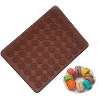 Non stick silicone macaron baking mat for pastry rolling