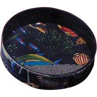 """Remo Ocean Drum 12"""" x 2,5"""", Fish Graphic Oceandrum"""