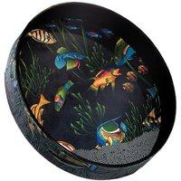 """Remo Ocean Drum 16"""" x 2,5"""", Fish Graphic Oceandrum"""