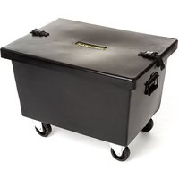 Hardcase Pack-n-Roll Small Trap Case with Wheels Hardwarecase