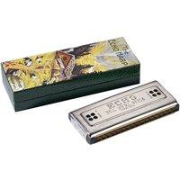 Hohner Echo Harp C/G 64 Tremolo-Mundharmonika