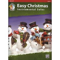 Alfred KDM Easy Christmas Instrumental Solos Play-Along