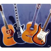 AIM Gifts Mouse Mat - Guitar Design Mousepad