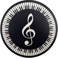 AIM Gifts Mouse Mat - Treble Clef and Keyboard Design Mousepad