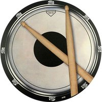 AIM Gifts Mouse Mat - Drum Head And Sticks Design Mousepad