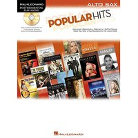 Hal Leonard Popular Hits for Alto Sax Play-Along