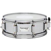 """Gewa Marching Steel Snare Drum 14"""" x 5"""" Chrome Finish Kleine Trommel"""