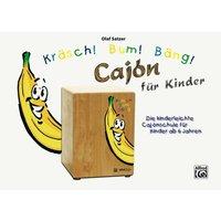 Alfred KDM Kräsch! Bum! Bäng! Cajon für Kinder Kinderbuch