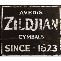 Zildjian ZSIGN1 Vintage Factory Sign Dekoschild